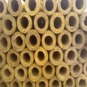 岩棉管以保温防火二合一性能
