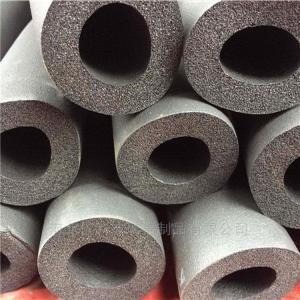 DN60 贴铝箔橡塑保温管闭孔结构绝热效果持久良好
