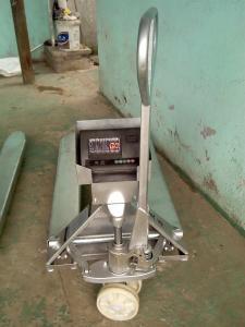 SCS-JB SCS-JB不銹鋼材質叉車秤-防腐液壓叉車稱