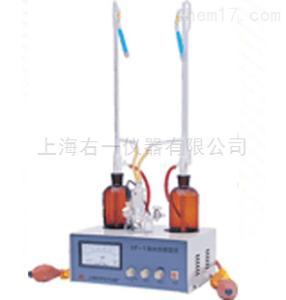 上海安亭KF-1,KF-1A卡尔费休滴定法水分测定仪
