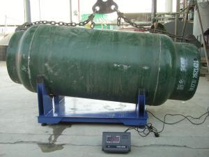 SCS 带控制系统上下限报警功能2吨钢瓶电子称