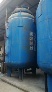 回收企业停用二手搪玻璃反应釜设备