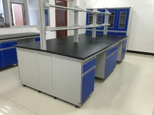 gzjh 中山全鋼帶試劑架中央實驗臺