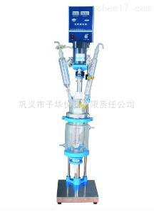 YSF 小型双层玻璃反应釜使用方便、外形美观