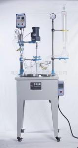 YDF-50L 单层玻璃反应釜现代合成化工生产设备