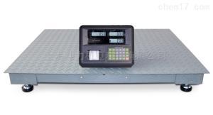 5吨不干胶打印功能平台秤