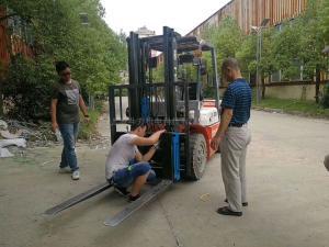 3吨内燃叉车加装称重功能
