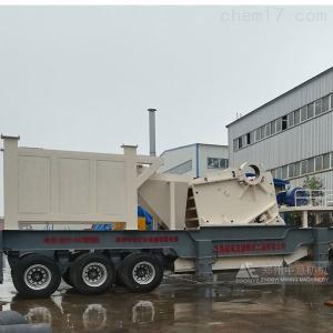日产400吨 云南昆明移动式粉碎机 保山建筑垃圾回收