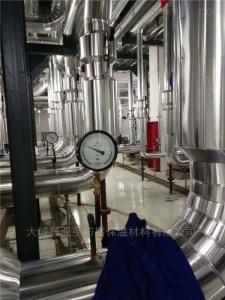 承揽管道保温玻璃棉铁皮施工安装价格
