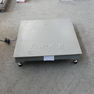SCS 天津廠家供應的1-5噸電子小地磅可連接電腦