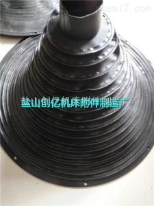 环保材质无纺布伸缩丝杠防护罩