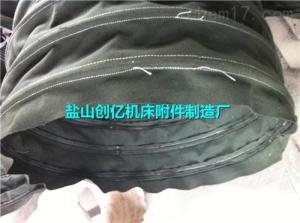 矩形绿色帆布进出口软连接