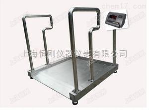 优质不锈钢轮椅秤 防水型透析轮椅称