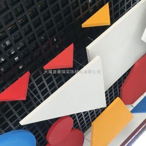 600*600 吸音吊頂板巖棉玻纖天花板品質優價格低