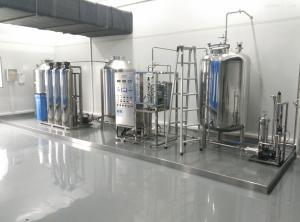 ZSYI3000L 化妆品纯化水设备