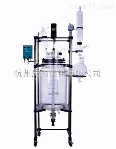 实验室双层玻璃反应釜GSFT-20L