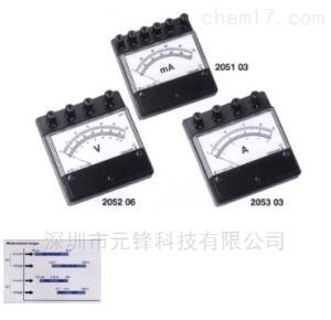 小型便攜式電流表和電壓表2053