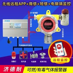 炼钢厂车间氢气气体泄漏报警器,手机云监测