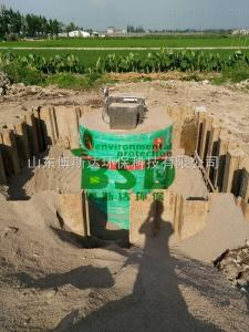 BSD 鄭州一體化污水提升泵站出水合格
