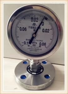 Y-150BF/Z/ML(B)/316L軸向壓力表