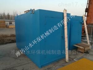 山西忻州疗养院污水处理设备参数设置