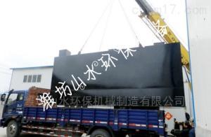 青海地理式一体化污水处理设备真实案例