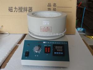SZCL-2-3000ml智能数显控温恒温磁力电热套搅拌器3L