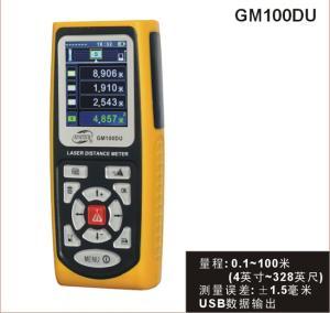 GM100DU 100米激光测距仪,GM100DU,存储1000组数据,可连接电脑