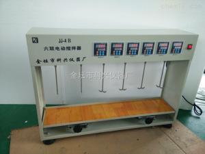 JJ-4B 数显六联恒速步进 电动搅拌器