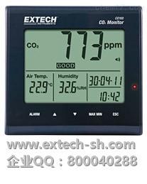 EXTECH CO100 空气质量测定仪,CO100 桌面室内空气质量测定仪,EXTECH代理