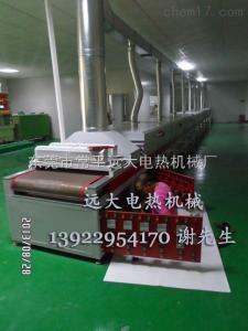 青岛市热风循环隧道炉