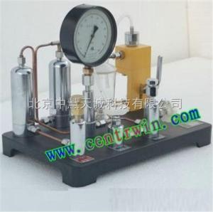 ZH6853 氧气表压力表两用校验器  型号:ZH6853 中慧