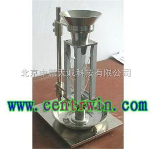 ZH6037 金属粉末松装密度测定仪/斯柯特容量计/假比重测定仪 型号:ZH6037 中慧