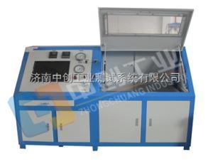16mpa铝管爆破强度试验台、公司生产管材静水压性能试验机