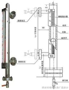 UDZ-10 磁浮子液位計,磁翻板液位計,浮球液位計, 磁浮子液位計, 頂裝式磁浮子液位計,磁翻板液位計型號
