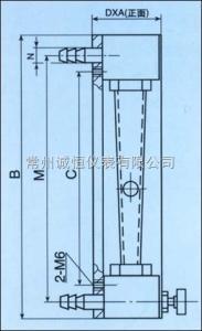 LZB LZB-10F氧氣玻璃轉子流量計,LZB-3F空氣玻璃轉子流量計