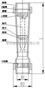 LZS LZT-32S04塑料管浮子流量计