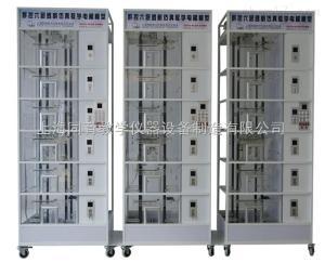 TYDT-3DT6 群控三联六层透明仿真教学电梯模型|透明仿真电梯教学模型