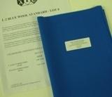 AATCC蓝色羊毛标准布