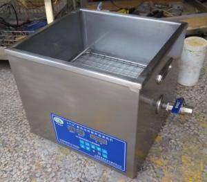 15L 双频加热型超声波清洗机/超声波清洗器SCQ-6201E