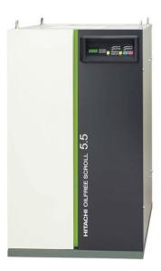 日立SRL-5.5MB5C無油渦旋空氣壓縮機