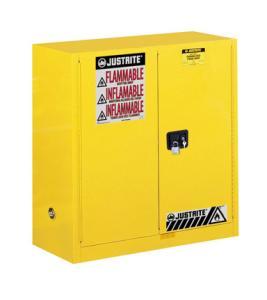 手动门30加仑立式易燃品安全柜
