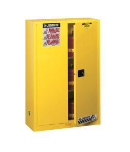 手动门45加仑立式易燃品安全柜