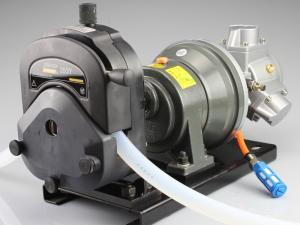 重庆杰恒工业型大流量防爆气动蠕动泵恒流泵QDFB/353Y