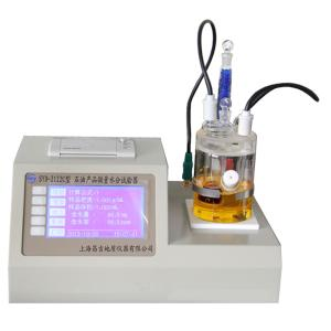 昌吉SYD-2122C石油产品微量水分试验器