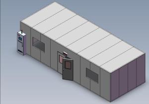 智能高温老化试验室|EWR-80P-A