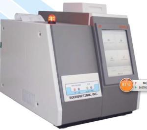 海鷗-ASW-2 X射線波長色散硫分析儀