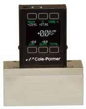 低压降气体质量流量计和控制器