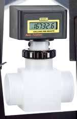coleparmer电池供电在线式流量计
