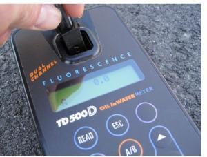 TD-500D雙通道便攜式水中油測定儀